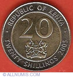 Image #1 of 20 Shillings 2005