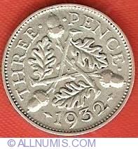 Threepence 1932