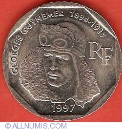 Image #1 of 2 Francs 1997 - Georges Guynemer
