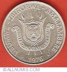 Image #1 of 1 Franc 1976