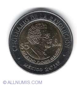Image #1 of 5 Pesos 2008 - Ricardo Flores Magon