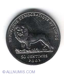 Image #1 of 50 Centimes 2002 Verney L. Camereon