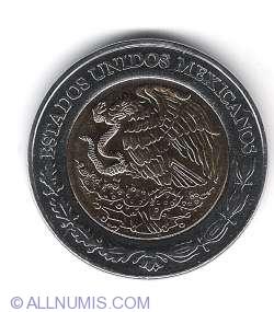5 Pesos 2008 - Jose Vasconcelos - a 100-a aniversare a revolutiei