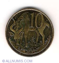 Imaginea #2 a 10 Centi 2004 (EE 1996)