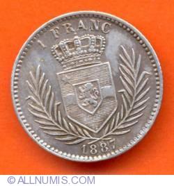 Imaginea #2 a 1 Franc 1887