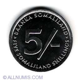 Imaginea #2 a 5 Shillings 2005