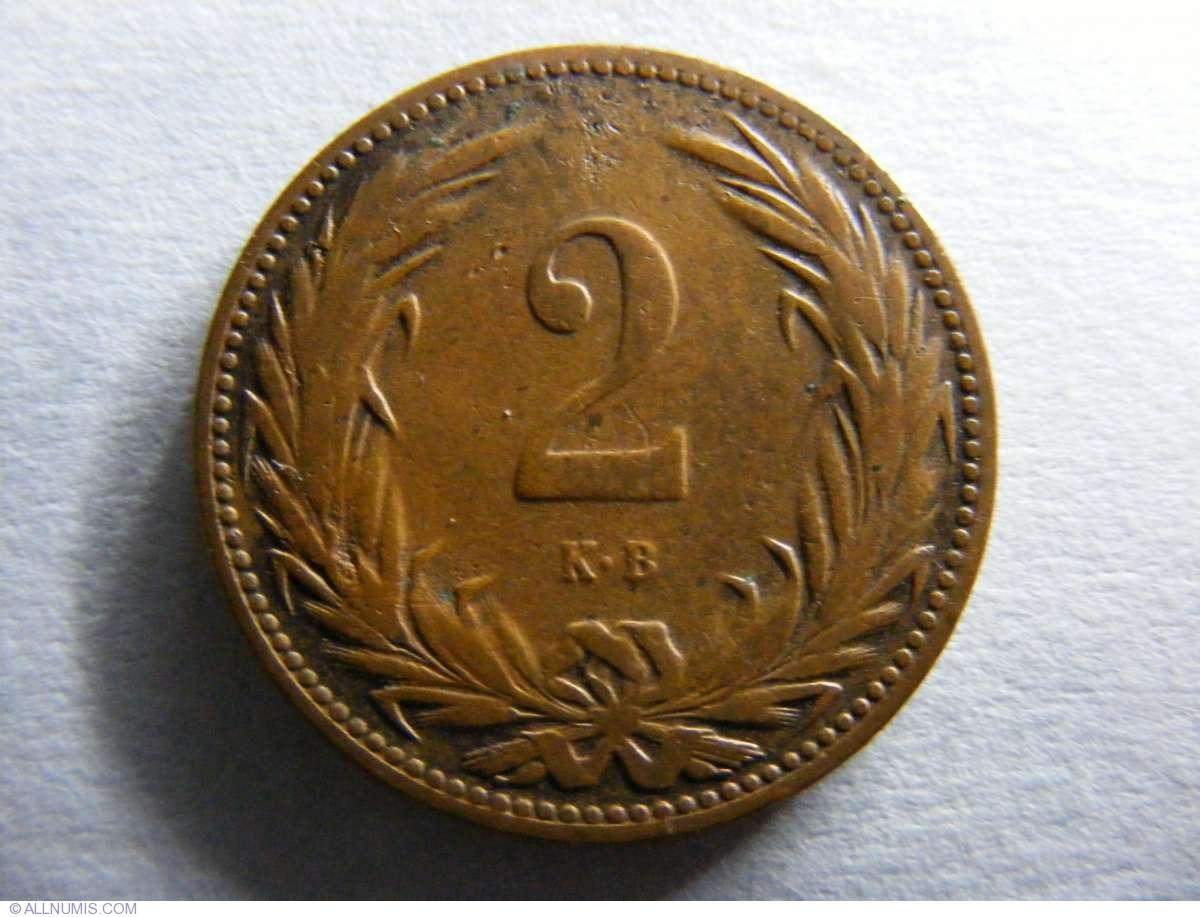 1896 Hungary 2 Filler