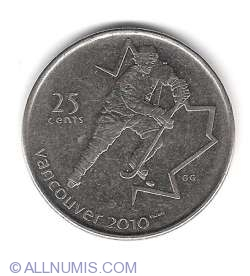 Image #2 of 25 Cents 2007 - Hockey