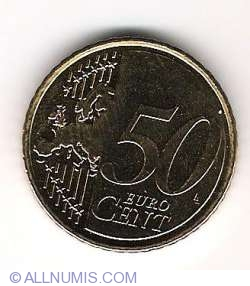 Image #2 of 50 Euro Cent 2008