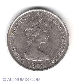 Imaginea #2 a 5 Pence 1984