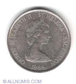 5 Pence 1984