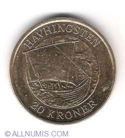 20 Kroner 2008 - Havhingsten