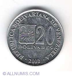 20 Bolivares 2002