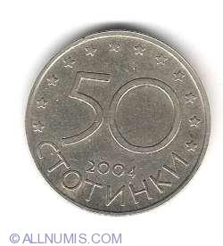 Image #1 of 50 Stotinki 2004