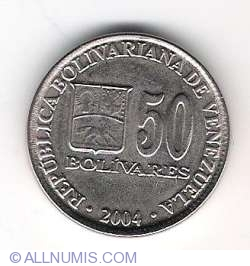 Imaginea #1 a 50 Bolivares 2004