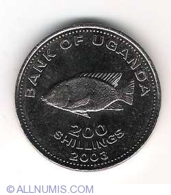 Image #1 of 200 Shillings 2003