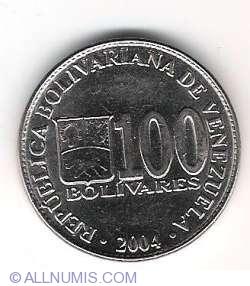 Imaginea #1 a 100 Bolivares 2004