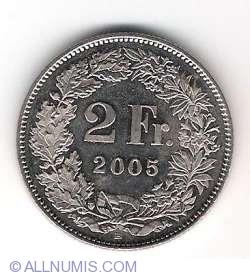 Image #1 of 2 Francs 2005