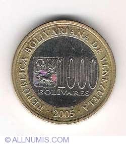 Imaginea #1 a 1000 Bolivares 2005