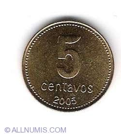 Image #1 of 5 Centavos 2005