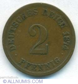 Image #1 of 2 Pfennig 1874 C