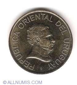 Image #2 of 5 Pesos Uruguayos 2008