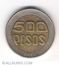 Image #1 of 500 Pesos 2002