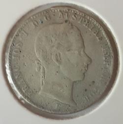 Image #2 of 1/4 Florin 1858 E