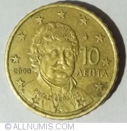 Imaginea #2 a 10 Euro Centi 2003