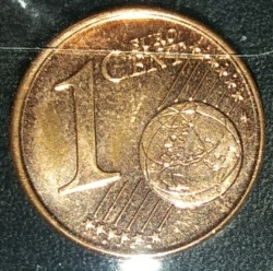 Image #1 of 1 Euro Cent 2018