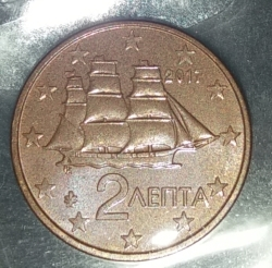 Image #2 of 2 Euro Cent 2017