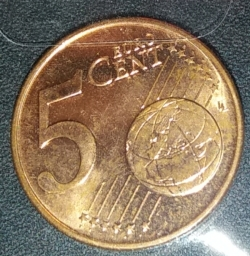 Image #1 of 5 Euro cent 2017
