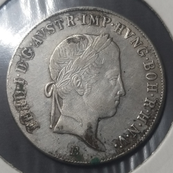 Image #2 of 20 Kreuzer 1843 E
