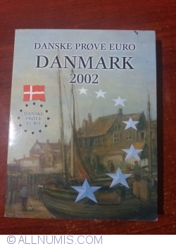 Denmark euro probe mint set 2002