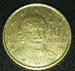 10 Euro Cent 2016