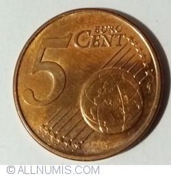 Image #1 of 5 Euro Cent 2016