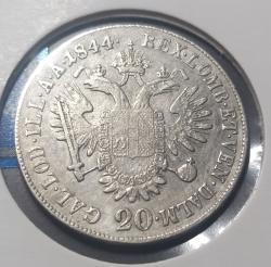 Image #1 of 20 Kreuzer 1844 E