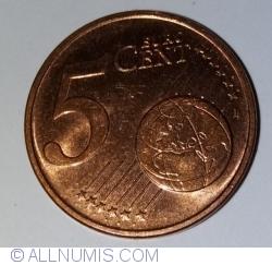 Imaginea #1 a 5 Euro Cent 2015