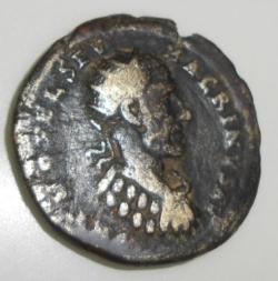 Image #1 of AE 22 Macrinus 217-218 - Deultum