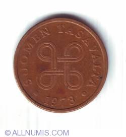 5 Pennia 1973