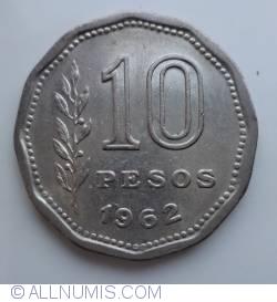Image #1 of 10 Pesos 1962