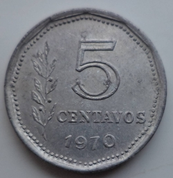 5 Centavos 1970