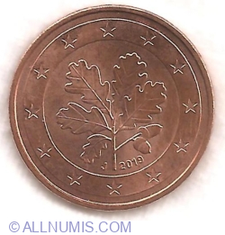 5 Euro Cent 2019 J