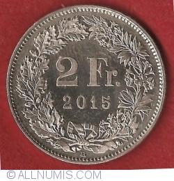 Image #1 of 2 Francs 2015