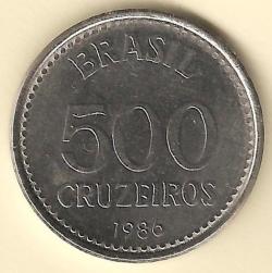 500 Cruzeiros 1986