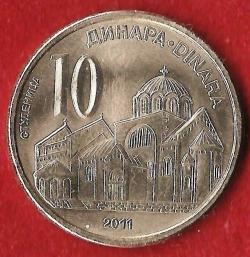 Imaginea #2 a 10 Dinari 2011