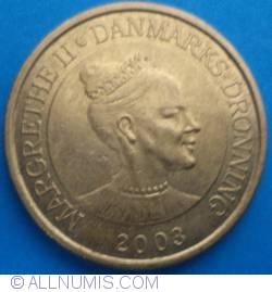 Image #2 of 20 Kroner 2003 - Copenhagen Stock Exchange