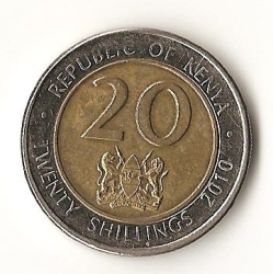 Image #1 of 20 Shillings 2010