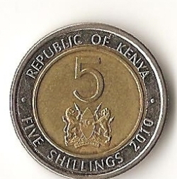 Image #1 of 5 Shillings 2010