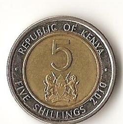 5 Shillings 2010